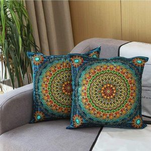 Throw Pillow Covers 18x18inch/45x45cm Pack of 2,